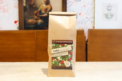 India Plantation A 100% Single Origin Arabica koffiebonen