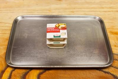peper/champignonsaus (per stuk)