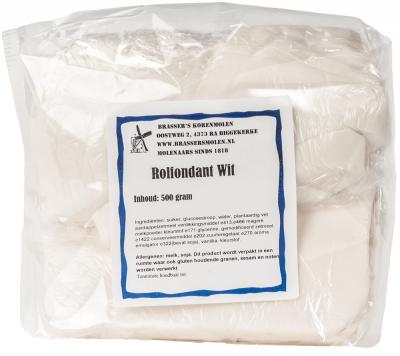 Rolfondant wit (500 gram)