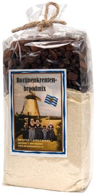 Rozijnen-krentenbroodmix (800 gram)