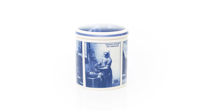 Stroopwafelpot Delfstblauw (diverse ontwerpen)