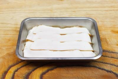 Plakjes vetspek (100 gram)