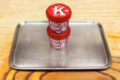 yoghurtknoflook saus  (per stuk)