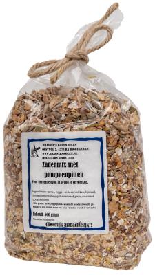 Zadenmix met pompoenpitten (500 gram)