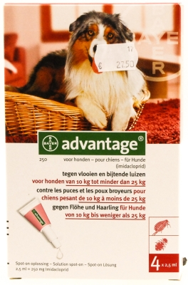 Advantage hond (10-25kg)