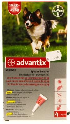 Advantix hond (10-25kg)