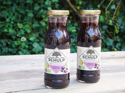 Appel-vlierbessensap Biologisch schulp (200 ml)