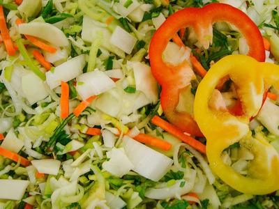 Bami groenten