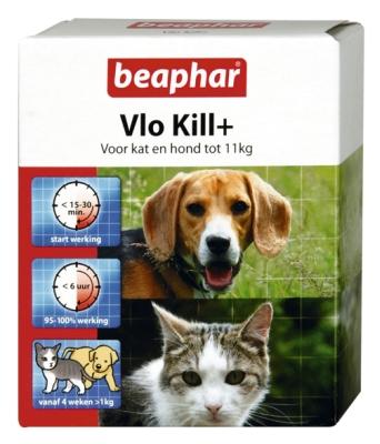 Vlo Kill+ kat en hond (<11kg)