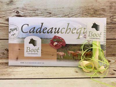 Cadeaubon / Cadeaucheque t.w.v. € 25,00