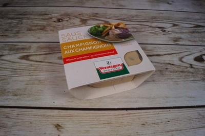 Champignonsaus - kuipje 80 gram