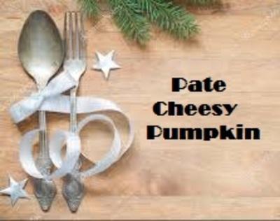 Paté Cheesy Pumpkin, stukje 200 gram