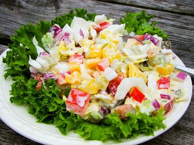 Frisse salade (250 gram)