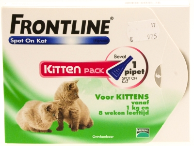 Frontline Spot on Kitten pack