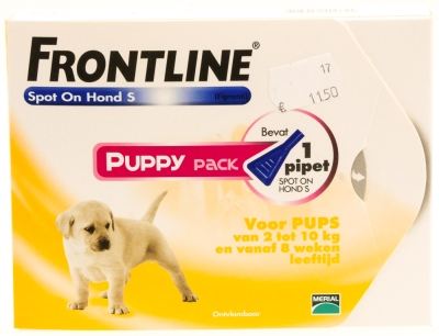Frontline Spot on Puppy pack