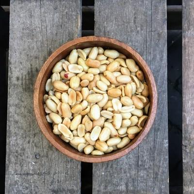 Grote pinda's gezouten