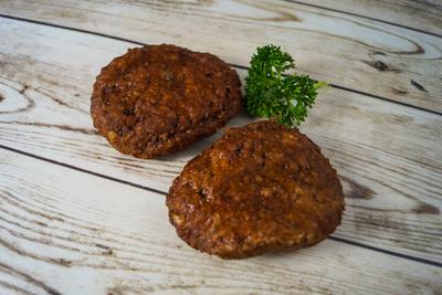 Hamburger voorgegaard