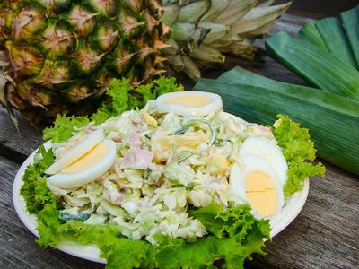 Lekkerbek salade (250 gram)