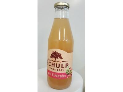 Appel-Rabarbersap Schulp (750 ml)