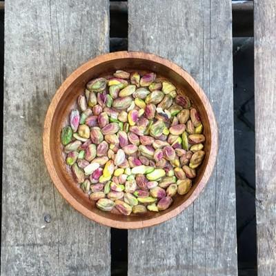 Rauwe gepelde pistachenoten