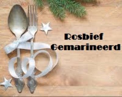 Rosbief (braadstuk) gemarineerd