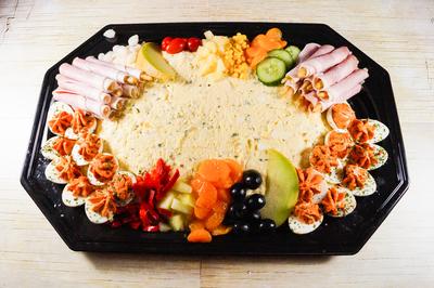 Scharrelei Salade (6 personen)