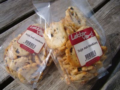 Soja nut cookies