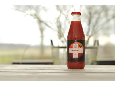 Bio tomaten sap (eerste hulp van schulp