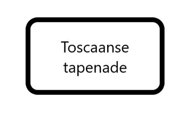 Toscaanse tapenade, 125 gram