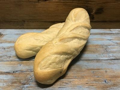 Wit stokbrood voorgebakken