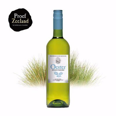 Witte wijn Oesters