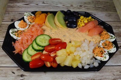 Zalm Salade (18 personen)