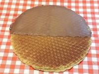Super Stroopwafel met Chocolade